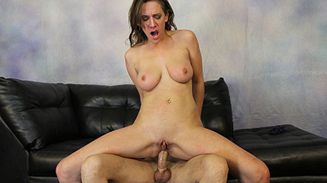 Alora Jaymes Rides a Massive Cock Deep In Her Pussy